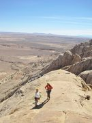 Rock Climbing Photo: Top out  pics.Andy and Shingo arrive on the summit...