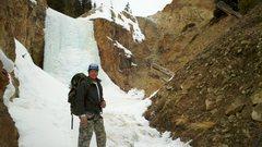 Rock Climbing Photo: Arriving at the falls.
