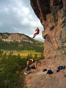 Rock Climbing Photo: Fall at the Golf Wall.