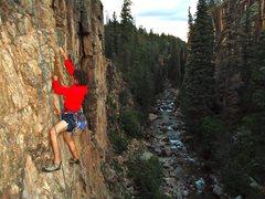 Rock Climbing Photo: Lemon: high country granite clip ups and mixed rou...