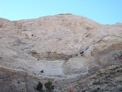 Rock Climbing Photo: A)Rolling Stones.540' 5.9