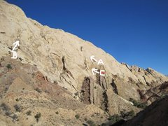 Rock Climbing Photo:   Tele photo from Two Fingers.A) Crusade.1310' 5.9...