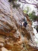 "Rock Climbing Photo: FFA of ""Forester""  Named in honor of my ..."