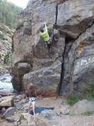 Rock Climbing Photo: Short but fun.