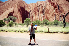 Rock Climbing Photo: Uluru, Australia