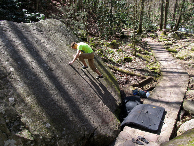 Rock Climbing Photo: Cascades Slab (Right)
