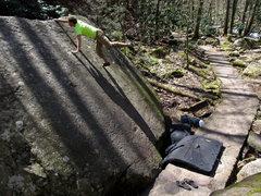 Rock Climbing Photo: Trailside Slab Right