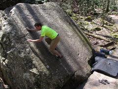 Rock Climbing Photo: Trailside Slab Left