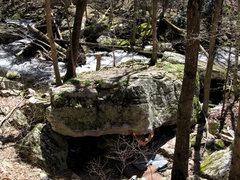 "Rock Climbing Photo: Ross on ""Inglorious"""