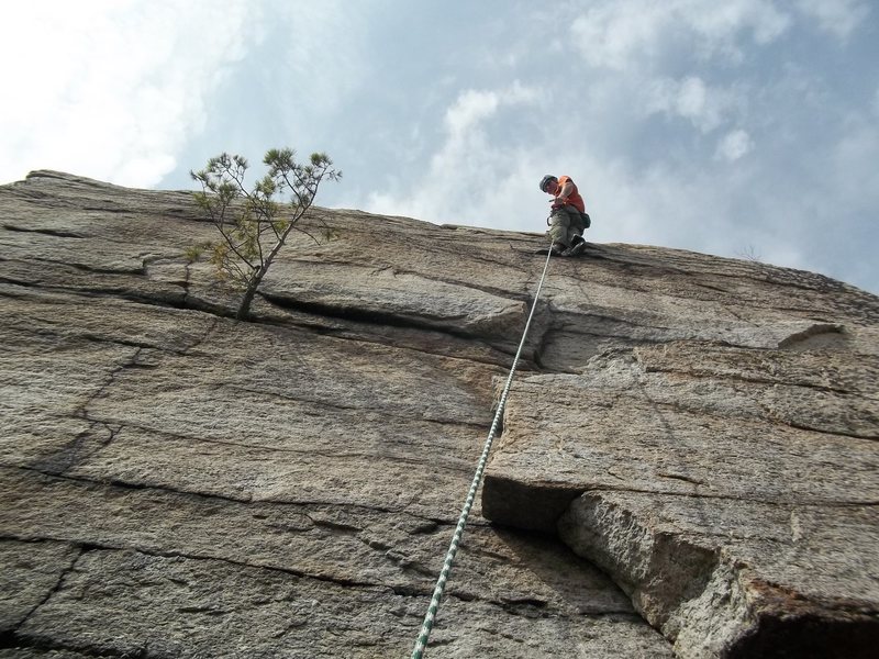 Rock Climbing Photo: yea