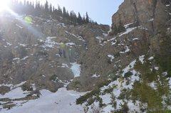 Rock Climbing Photo: First Gully.