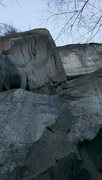 Rock Climbing Photo: Linking pitches - this is P-2.  Awesome!