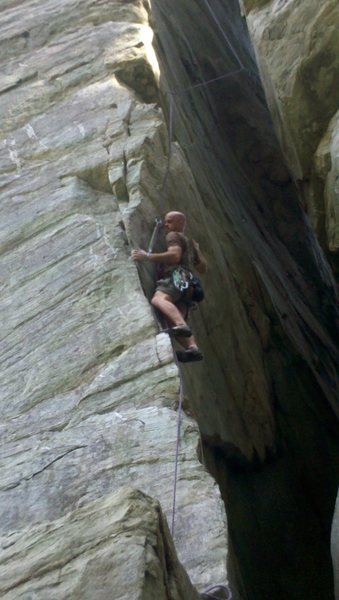 "Rock Climbing Photo: ""Chimneyman"""