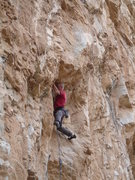 Rock Climbing Photo: Never underestimate the hardness of EFR's head