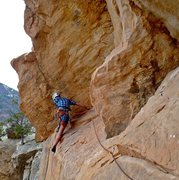 Rock Climbing Photo: Traveling with Charlie around the super exposed pr...