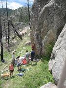 Rock Climbing Photo: Dragon's Den