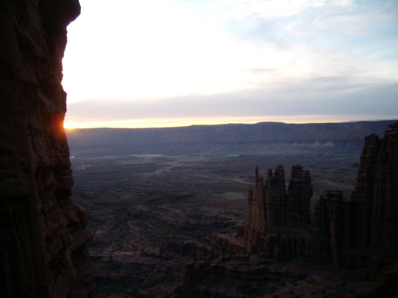 West Side Story - Cottontail Tower - Fisher Towers, UT - With Bill Duncan - March 26th and 27th 2012.