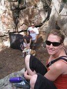 Rock Climbing Photo: T, Paul, Keplar and Suz