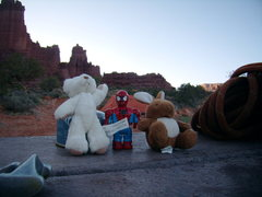 Rock Climbing Photo: Base Camp. West Side Story - Cottontail Tower - Fi...