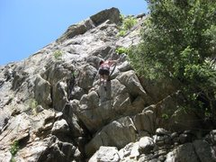 Rock Climbing Photo: Go T