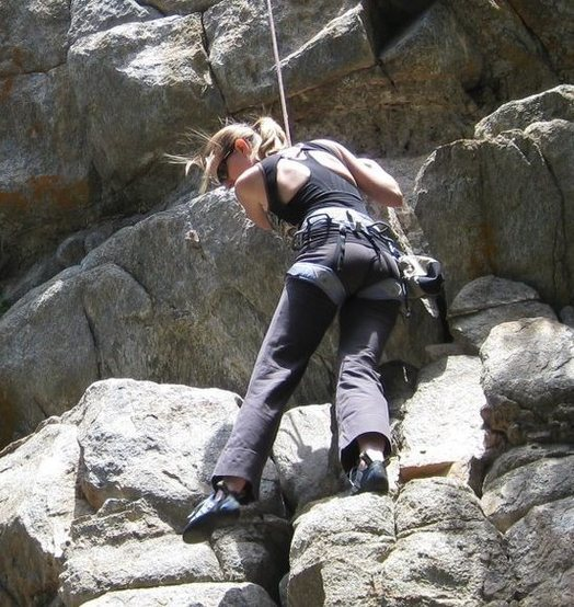 Rock Climbing Photo: 084