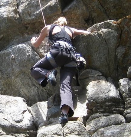 Rock Climbing Photo: 020