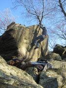 Rock Climbing Photo: Changing Coroners, V8, Whiskey Springs