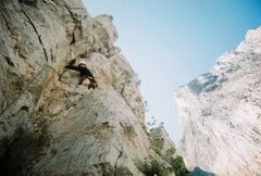 Rock Climbing Photo: On Las Aguajas with TW0 summit in the background