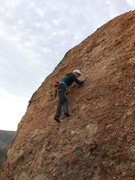 "Rock Climbing Photo: Climber working up the face on ""20 Nuggets fo..."