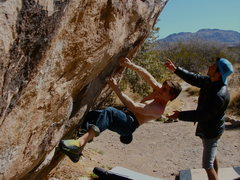 Rock Climbing Photo: Warm up Rocks at Hueco Tanks