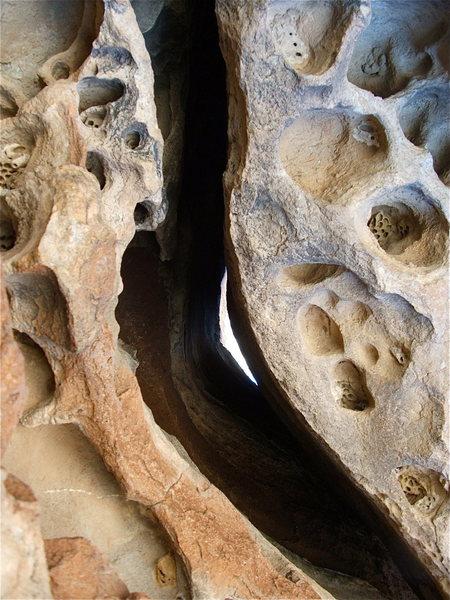 Rock Climbing Photo: Huecos