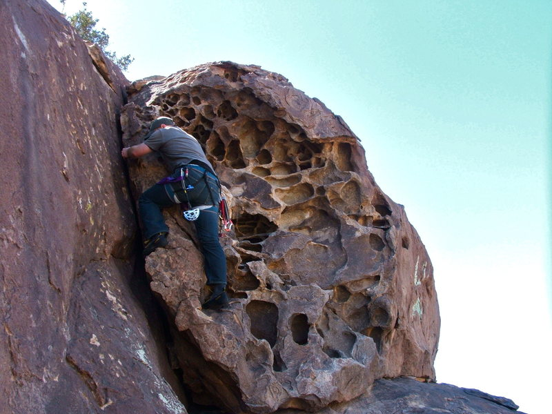 Rock Climbing Photo: North Mountain at Hueco Tanks