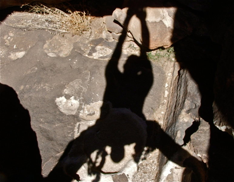 Rock Climbing Photo: Shadows at Hueco Tanks