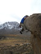 Rock Climbing Photo: Almost...there!!!