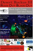 Rock Climbing Photo: Comp Poster