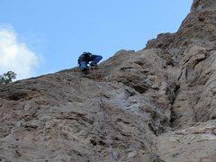 Rock Climbing Photo: sending it