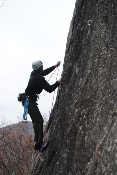 Rock Climbing Photo: Bolted 5.10a