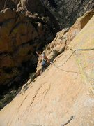 Rock Climbing Photo: Finishing P4
