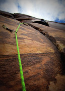 """Rock Climbing Photo: At the good """"rest"""" on the awesomely tech..."""