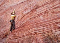 Rock Climbing Photo: A photo of Matt Kuehl on White Tigers. My best Jim...