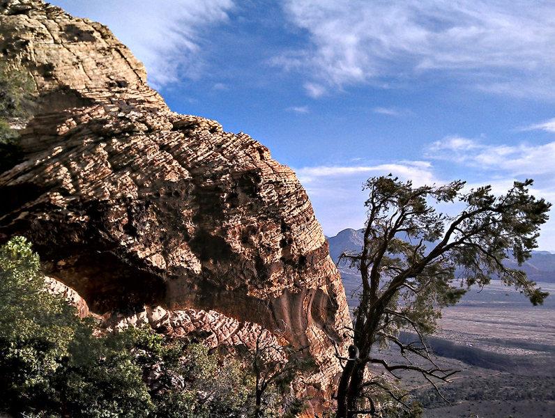 Rock Climbing Photo: Juniper Canyon