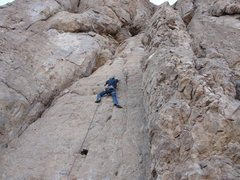 Rock Climbing Photo: Blood sweat and steers
