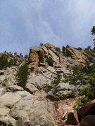 Rock Climbing Photo: Shirt Tail Peak.