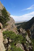 Rock Climbing Photo: Great views.