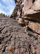 Rock Climbing Photo: Approach slab.