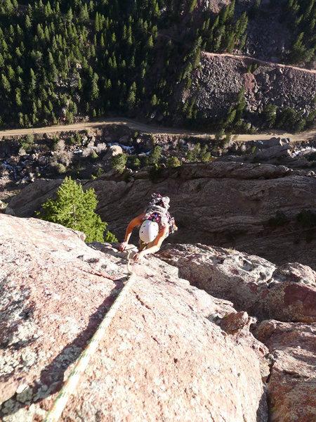 Rock Climbing Photo: P6.