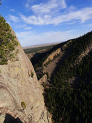 Rock Climbing Photo: View from Redgarden.