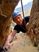 Rock Climbing Photo: my first multi pitch route at East Animas in Duran...