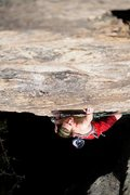 Rock Climbing Photo: One of the best 5.10's ever. Strike a Scowl 10b/c