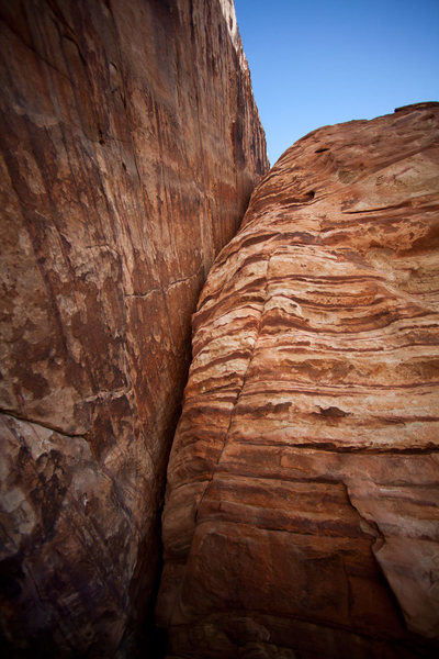 Rock Climbing Photo: Looking up at Bengal